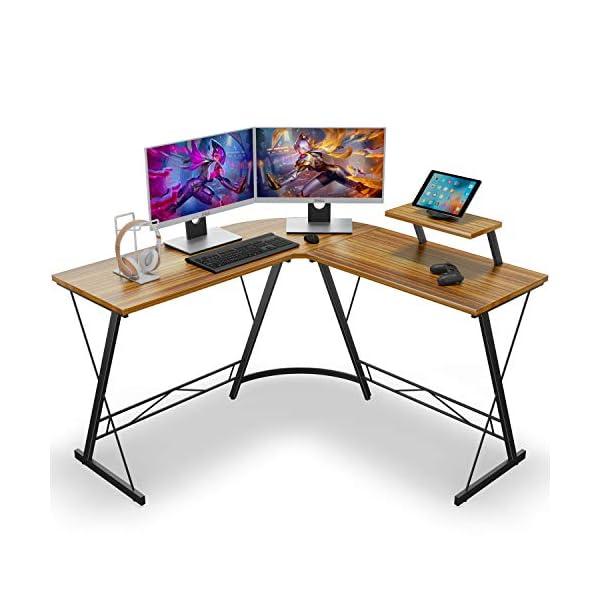 L-shaped corner desk by Casaottima