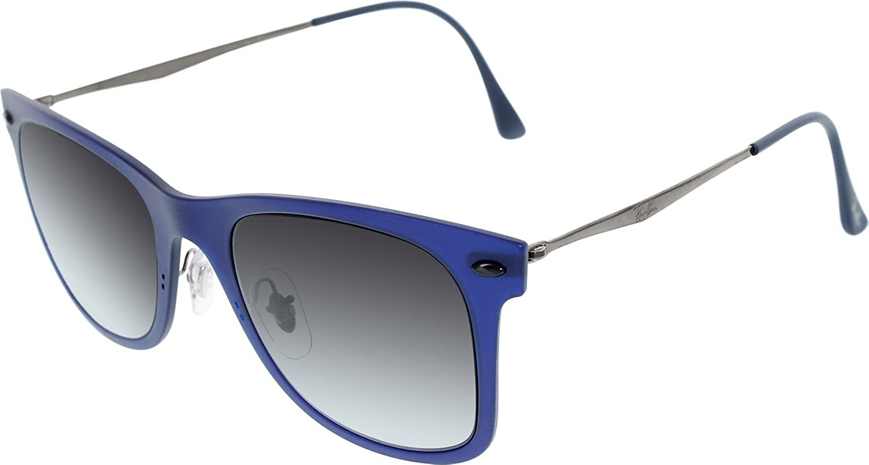25c8c0bb76c Amazon.com  Ray-Ban Men s Gradient Wayfarer RB4210-895 8G-50 Blue Wayfarer  Sunglasses  Ray-Ban  Shoes