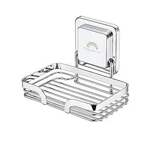 Amazon.com: cheftick fuerte soporte de jabón de acero ...