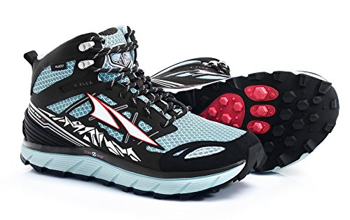 Altra Footwear Women's Lone Peak 3.0 Mid Neoshell Trail Running Shoe,Blue,US 9 B