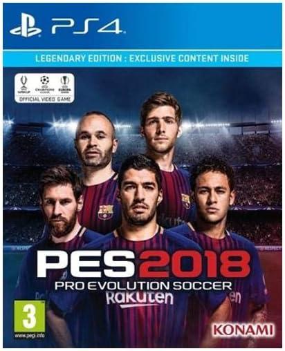 PES 2018 PS-4 Legendary Edition DU [Importación holandés]: Amazon ...
