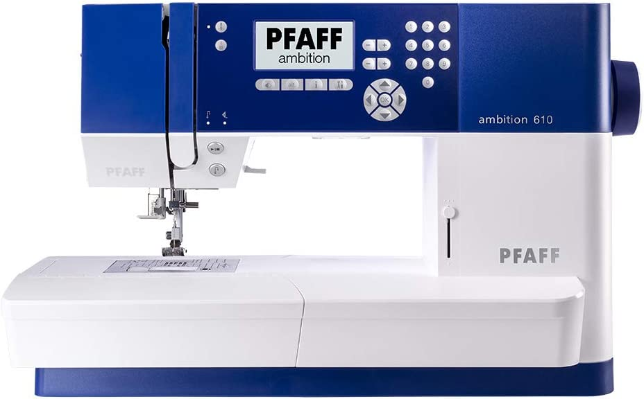 PFAFF máquina de Coser Ambition 610: Amazon.es: Hogar