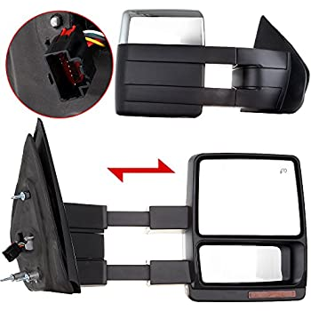 amazon com yitamotor towing mirrors compatible for ford 2014 F-150 Mirror Step Light Utube