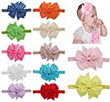 Best QandSweet Clothing For Boys - Qandsweet Baby Girl Headbands with Hair Flower Accessories Review