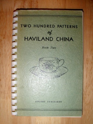 Two Hundred Patterns of Haviland China,  Book 2