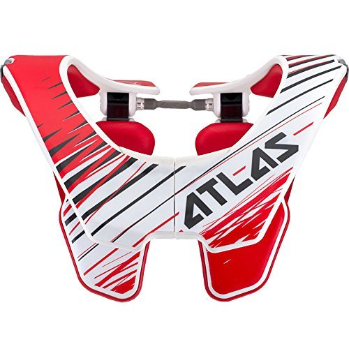 Atlas Brace Technologies Red Tornado Air Brace (Red, Small) by Atlas Brace Technologies