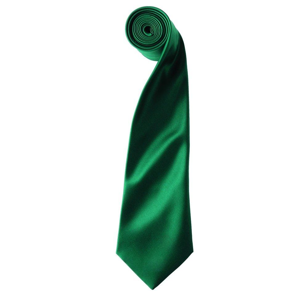 Premier - Corbata - para hombre Verde verde botella: Amazon.es ...