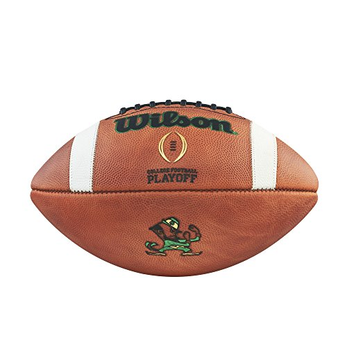 College Football Playoff Official Size Football - Notre Dame by Wilson