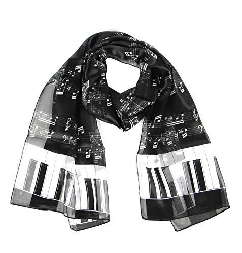 Print light weight Satin Scarves for women, silk feel wrap, American flag, Heart, Music - Colored Scarf Polka Multi Dot