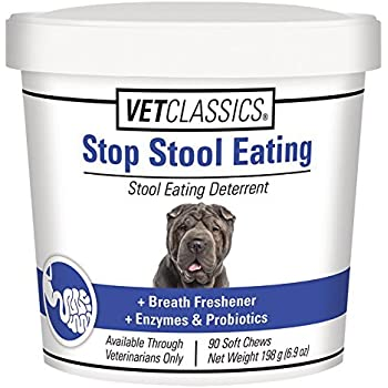 Amazon Com Vet Classics Stop Stool Eating 90 Soft Chews