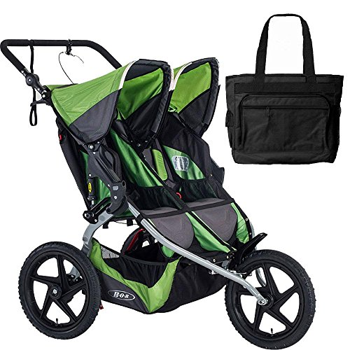 BOB 2016 Sport Utility Stroller Duallie – Meadow with FREE Diaper Bag