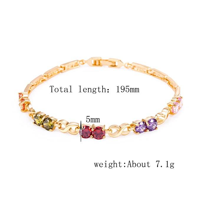 Zirkonia Blume Armband Legierung Perlenkette Für Frauen Party Schmuck