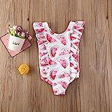 Merqwadd Toddler Baby Girls Cute Fashion Ruffle