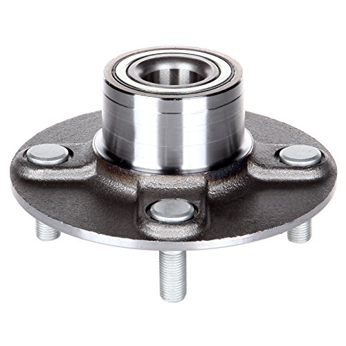 ECCPP Wheel Hub and Bearing Assembly Rear 512303 fit 2000-2006 Nissan-Datsun Sentra Replacement for 4 Lugs Wheel Bearing Hubs without ABS 1 pcs