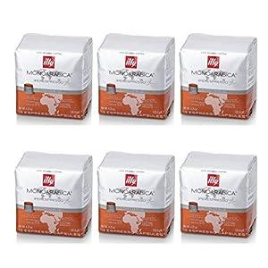 Illy 6Paquetes de 18Cápsulas de café de Etiopía 51xR lFDNKL