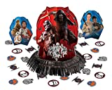 Amscan Star Wars Episode Vll Table Decorating Kit, Assortment of Sizes, Multicolor