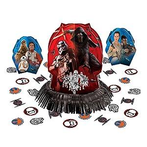 Amscan 281506 Star Wars Episode VII Table Decorating Kit, 1 pack (23 pcs), Party Favor