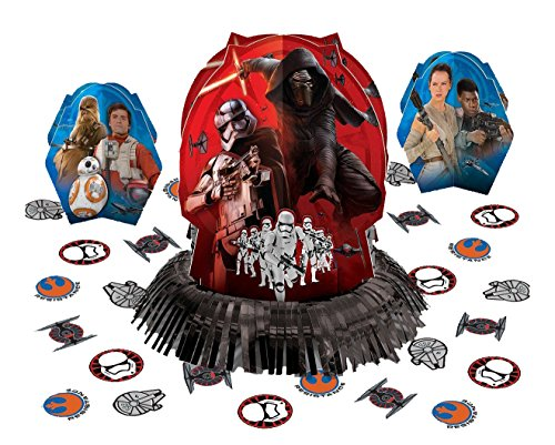 Star Wars Episode VII Table Decorating Kit, Party Favor]()