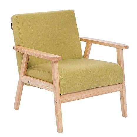 Amazon.com: Solid Wood Sofa, Fabric Sofa Solid Wood Sofa ...