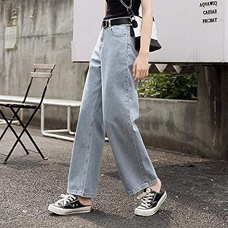 Kxdnzk Zkkxdn Moda Jeans Mujer Tallas Grandes Vintage Novios Jeans Vaqueros Rectos Vaqueros Anchos Sueltos Pantalones De Mezclilla Retro Amazon Es Deportes Y Aire Libre