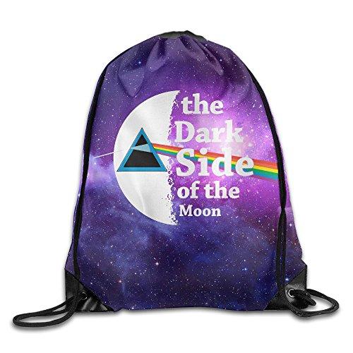 IYaYa Dark Side Of The Moon Drawstring Backpack Gym Bag