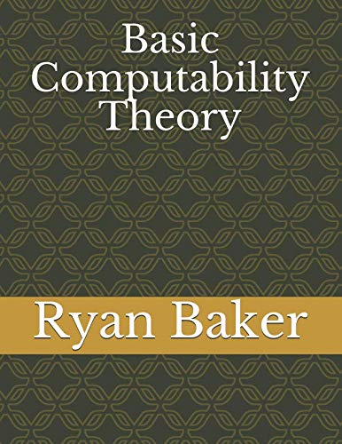 Basic Computability Theory
