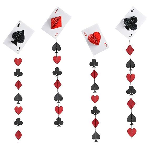 Kreatwow Casino Party Decorations - Casino Las Vegas Garland ...