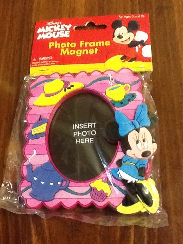 Amazoncom Mickey Mouse Photo Frame Magnet Home Kitchen