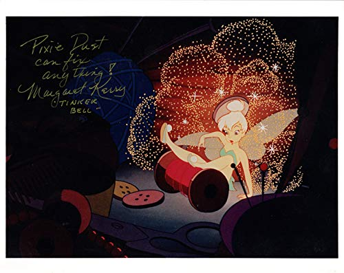 MARGARET KERRY SIGNED 8x10 PHOTO TINKER BELL PETER PAN