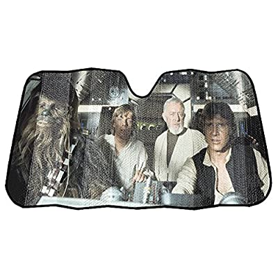 Infinity Stock Star Wars Front Auto Windshield Sun Shade Universal Size Fit 58