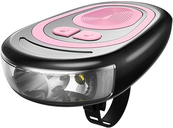 USB Rechargeable Vélo phare étanche DEL Bike Light Avec Bell Horn SL