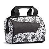 Fit & Fresh Women's Downtown Insulated Lunch Bag with Zipper Closure...