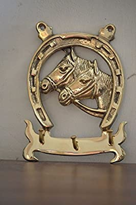 Miraculous Cultural Hub J92 100 0026 Lovely Ornate Brass Vintage Horseshoe Key Holder Horseshoe Form Key Organiser Brass Key Hanger With Two Horse Heads Download Free Architecture Designs Grimeyleaguecom