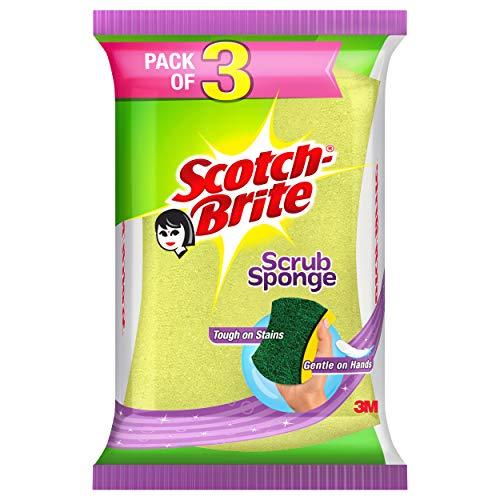 Scotch-Brite Scotch Brite Scrub Sponge – Pack of 3
