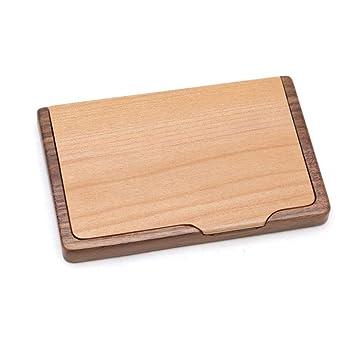 Visitenkartenetui Visitenkartenhalter Aus Holz Für Den