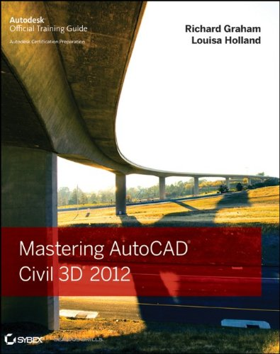 [PDF] Mastering AutoCAD Civil 3D 2012 Free Download | Publisher : Sybex | Category : Computers & Internet | ISBN 10 : 1118016815 | ISBN 13 : 9781118016817