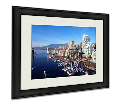 Ashley Framed Prints Vancouver Harbour, Wall Art Home Decoration, Color, 34x40 (frame size), - The Locations Bay Vancouver