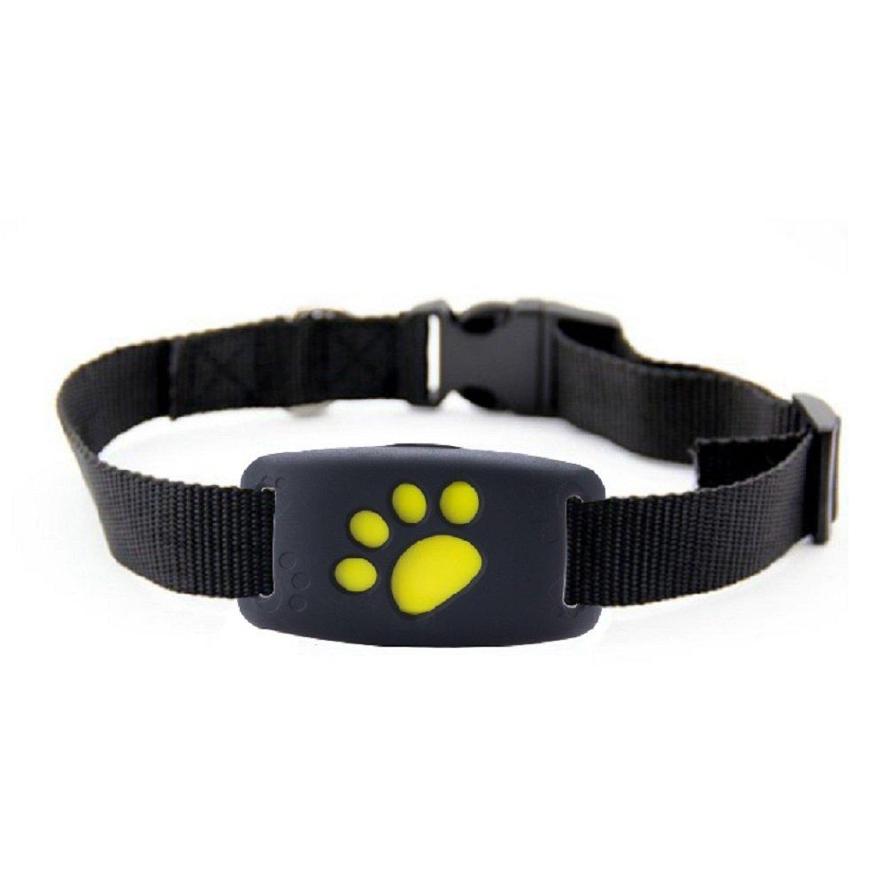 Mini GPS rastreador de mascotas, dispositivo de seguimiento inteligente anti pérdida, localizador de perros, gatos, impermeable, alarma, seguimiento en ...