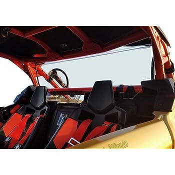 Can-Am Maverick X3 Rear Shield With Sliding Vent