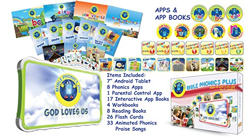 Bible Phonics Plus (3-8 years) by Bible Phonics Plus