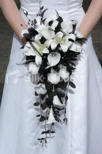 Amazon Com Gorgeous Modern White Calla Lily Easter Lily Bridal