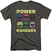Popfunk Classic Power Rangers Masks Helmets T Shirt & Stic