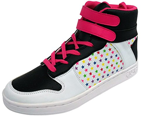 T.U.K. Shoes A7170 Womens Sneakers, Hip Hop Star Velcro High Top Sneaker - US: Women 10 by T.U.K.