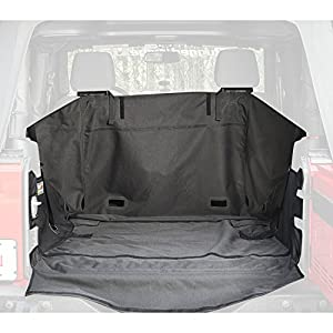 Rugged Ridge Cargo Cover for JK Jeep Wrangler 2-Door without Subwoofer