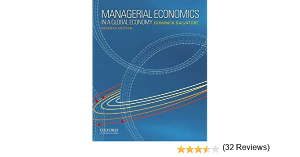Managerial economics in a global economy by salvatore dominick managerial economics in a global economy by salvatore dominick 7th edition 2011 hardcover amazon books fandeluxe Image collections