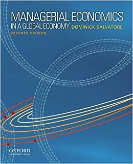 Managerial economics in a global economy by salvatore dominick 7th managerial economics in a global economy by salvatore dominick 7th edition 2011 hardcover amazon books fandeluxe Choice Image