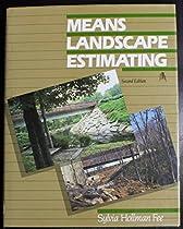 Means Landscape Estimating, Second Edition
