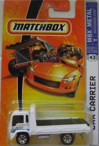 2007 Child Carrier (Mattel Matchbox 2007 MBX Metal 1:64 Scale Die Cast Car # 43 - White Car Carrier)