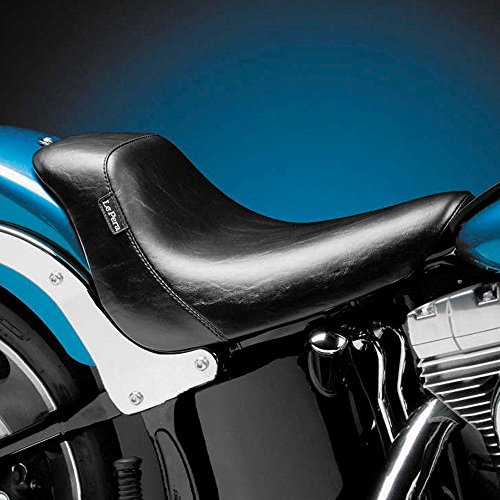 Harley Softail Seat (Le Pera Bare Bones Solo Seat for Harley 2006-2009 Softail Models with 200 Mm Rear Tire (Except Deuce))