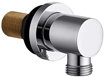 Wall shower Outlet Elbow Round Solid Brass
